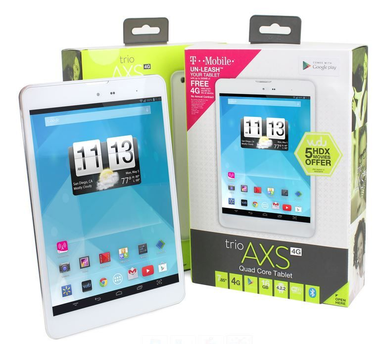 Trio AXS 4G budget tablet does alright for 179 [Review