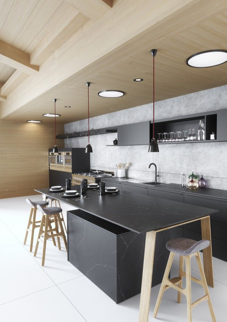 Silestone Eternal Charcoal Soapstone | Ideas for the House ...