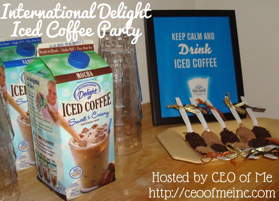 International delight iced coffee party review recipes