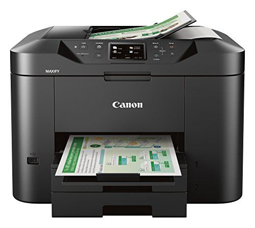 Canon Office And Business Wireless All In One Printer, Scanner, Copier And  Fax With Mobile And Duplex Printing
