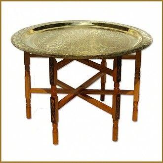 ein teetisch aus messing ist super leicht auf und. Black Bedroom Furniture Sets. Home Design Ideas