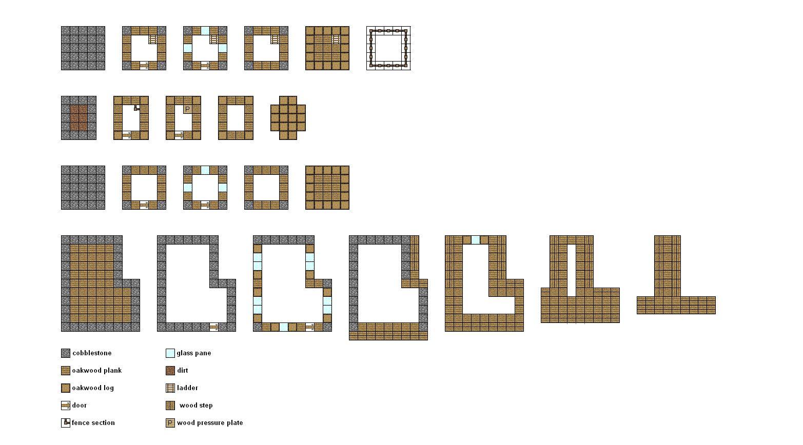 minecraft house blueprints 10 Minecraft houses
