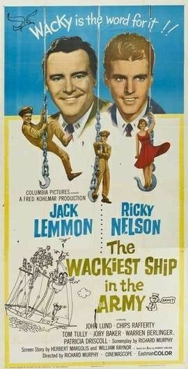 Image result for wackiest ship in the army 1960