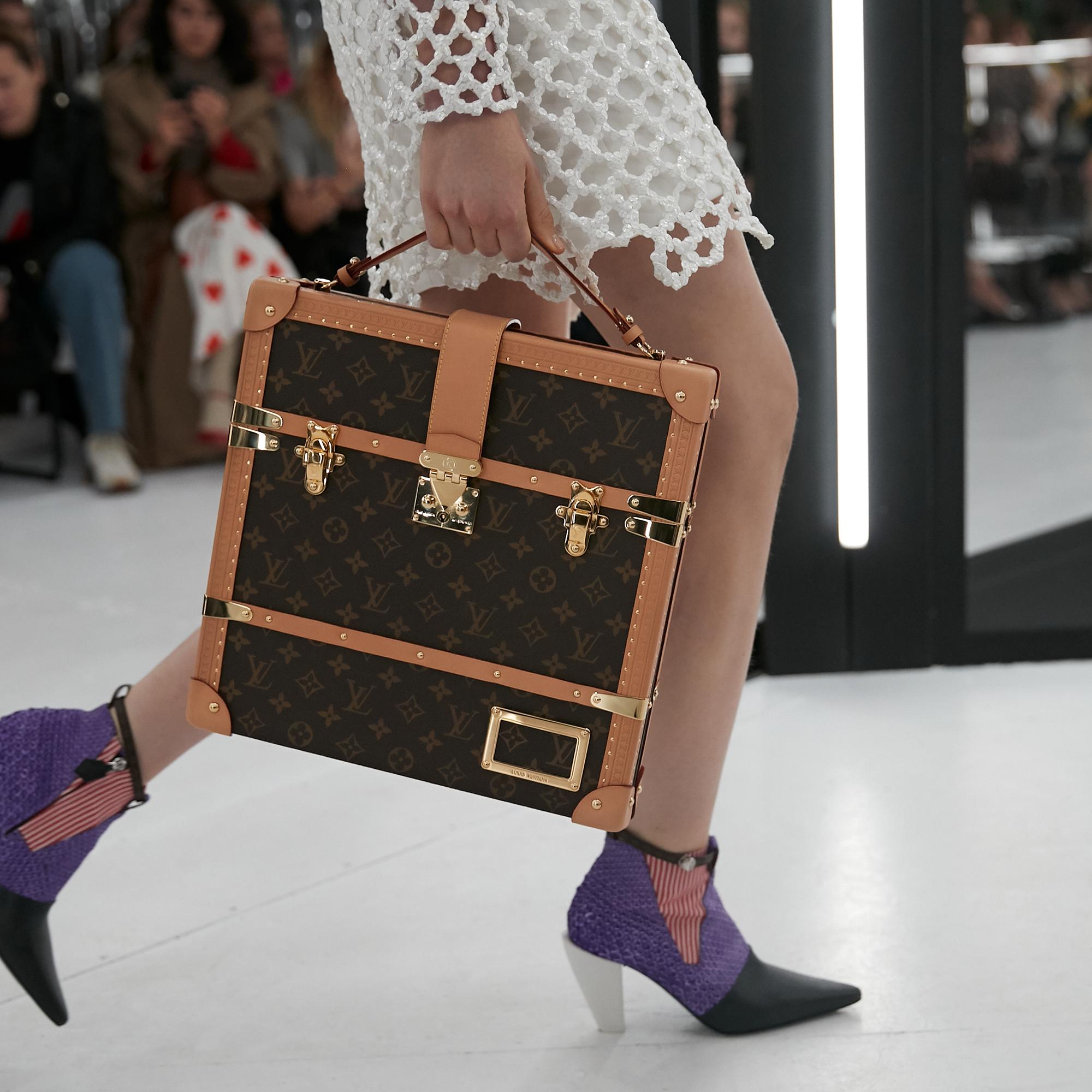 9488c27a85aa A Monogram handbag from the Louis Vuitton Women s Spring-Summer 2019  Fashion Show