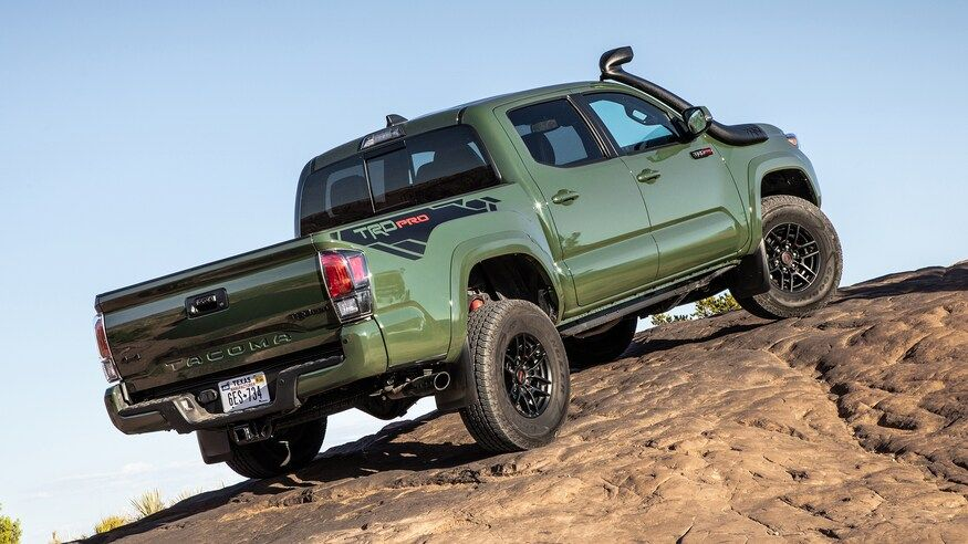 2020 Toyota Tacoma Trd Pro Review What S Improved What S Not In 2020 Toyota Tacoma Trd Tacoma Trd Toyota Tacoma