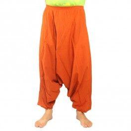 Pantalón de Aladdin bloomers naranja