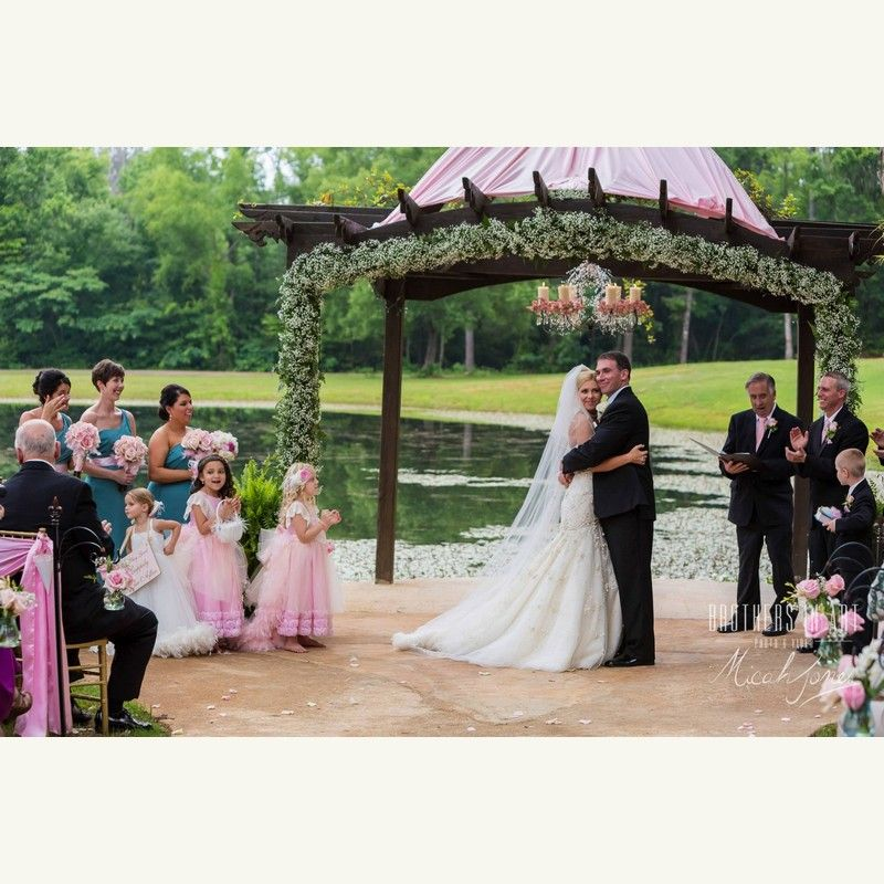 Alicias Gold And Pink Marie Antoinette Themed Wedding At The Affordable Birmingham Alabama Location In Shelby
