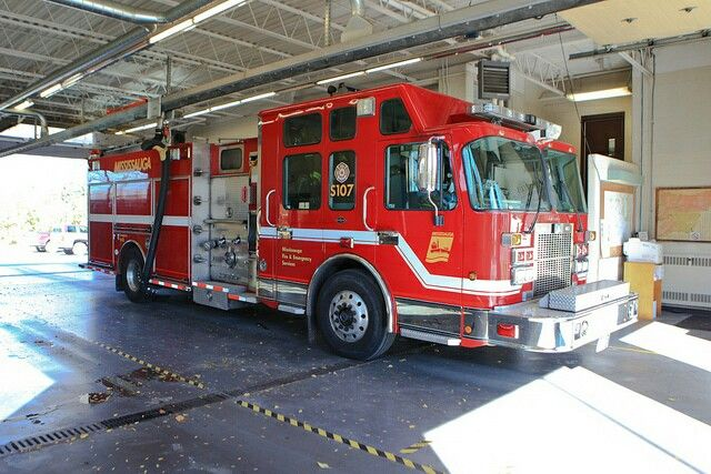 Mississauga Fire & EMS S107 | Tractors/Trailers/Trains