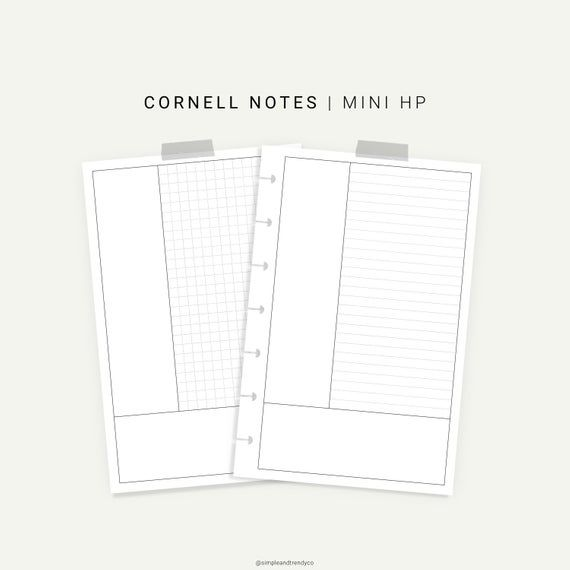 This Printable Comes In 2 Designs Lined And Grid This