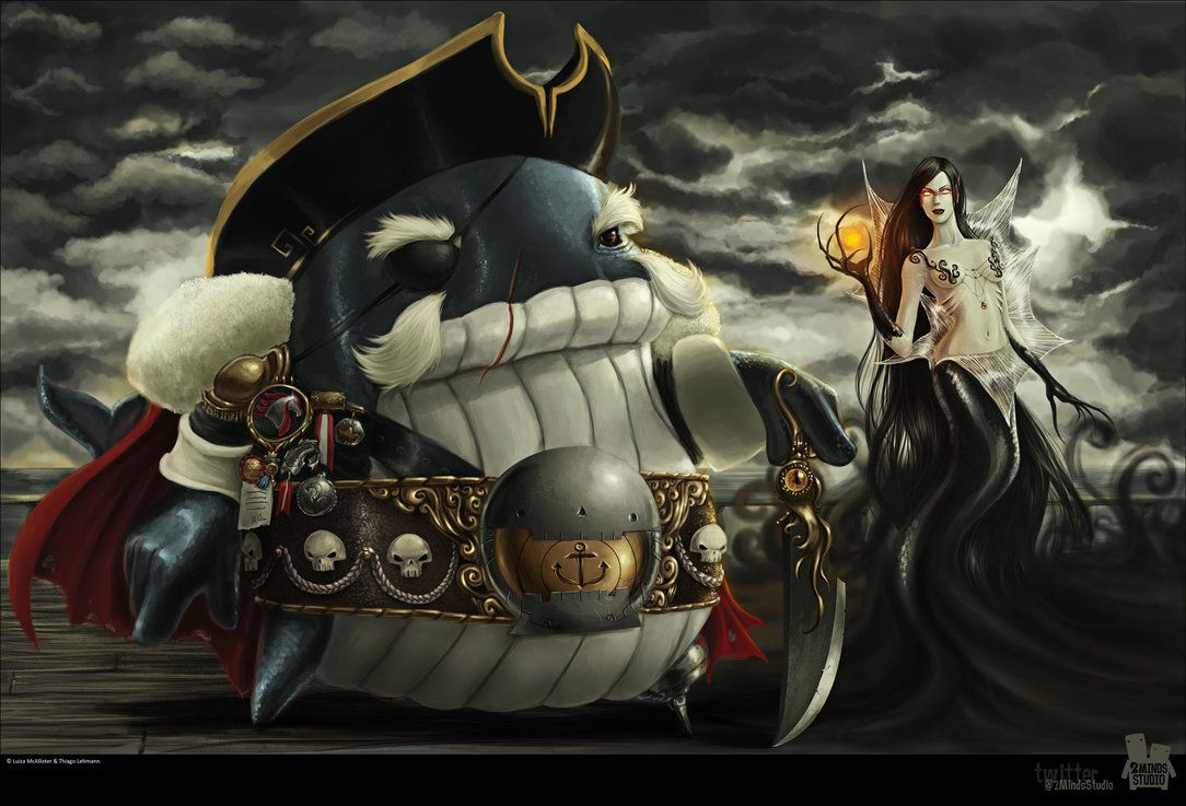 General Whale and Shadow  by *2MindsStudio