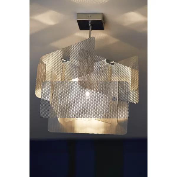 1 Light Unique Geometric Pendant Geometric Pendant Contemporary Lighting Design Light Sculpture