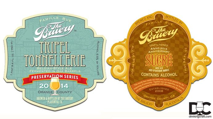 The Bruery has announced two new beers being added to the Reserve and Hoarders Society. We're very excited to introduce..
