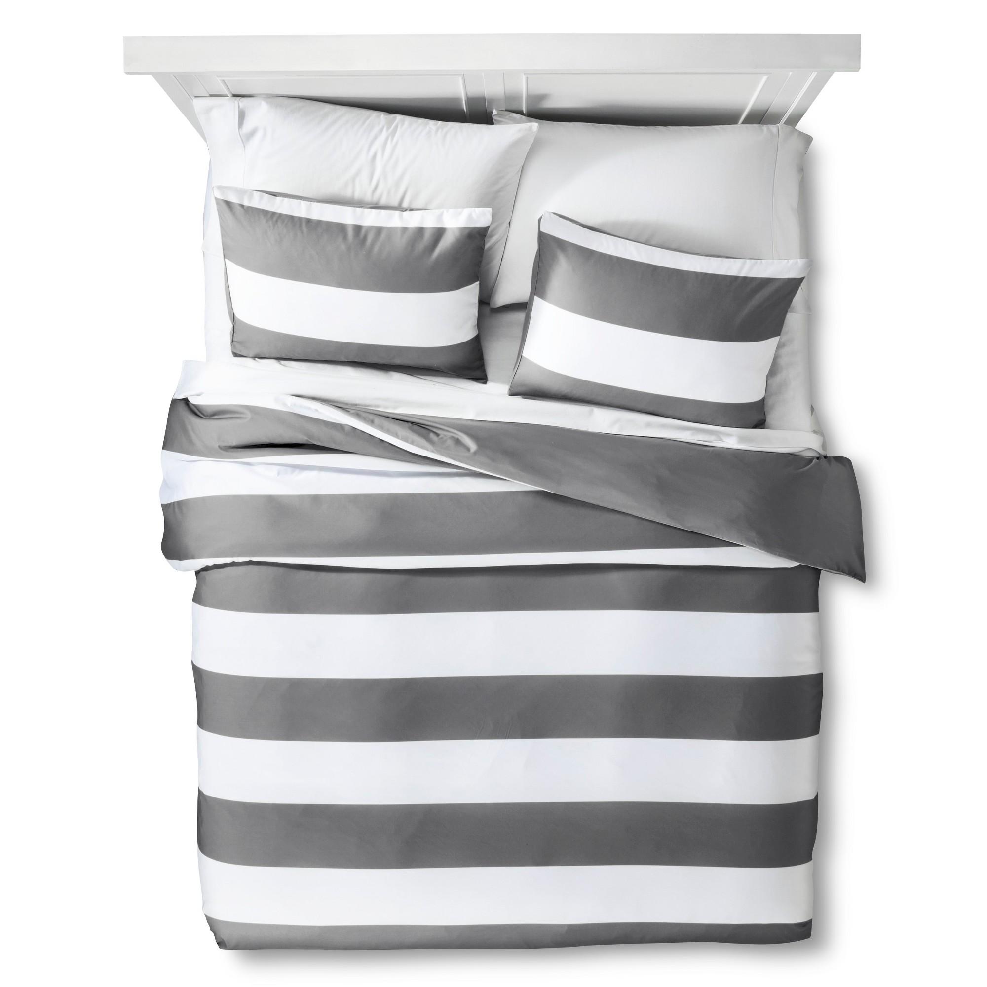 Meritt Pajama Stripe Duvet Cover