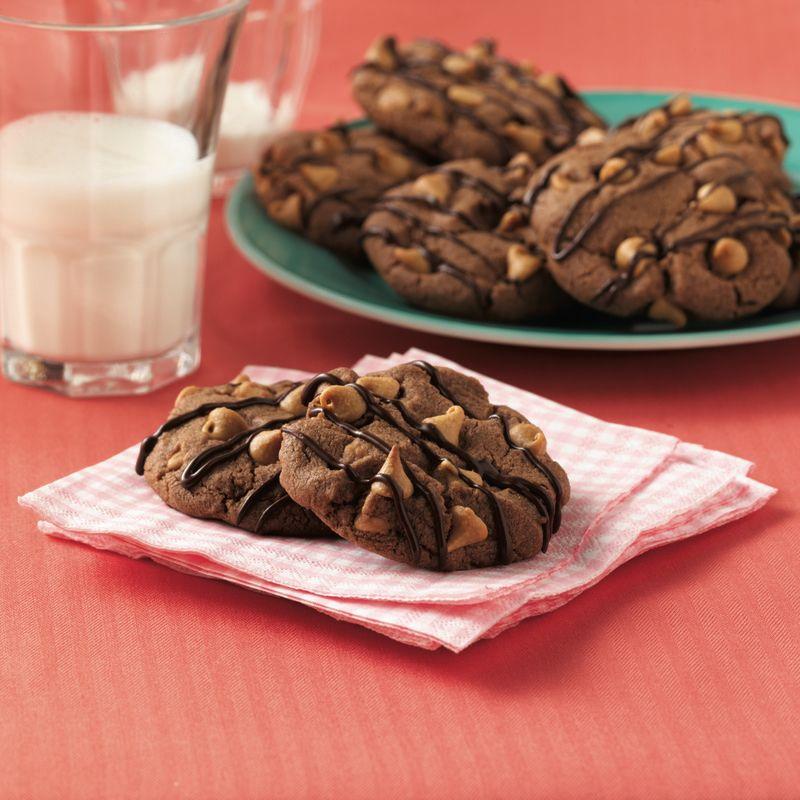 Chocolatepeanut Chip Cookies Recipe Food recipes