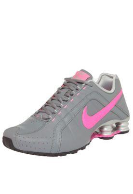 a640c89a0e4 Tênis Nike Sportswear WMNS Shox Junior Cinza Rosa Calçados Online