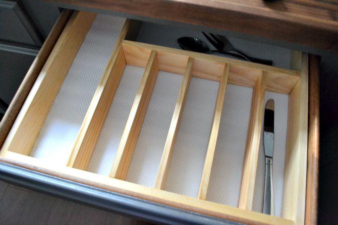 10 To Organized Diy Silverware Drawer Organizer