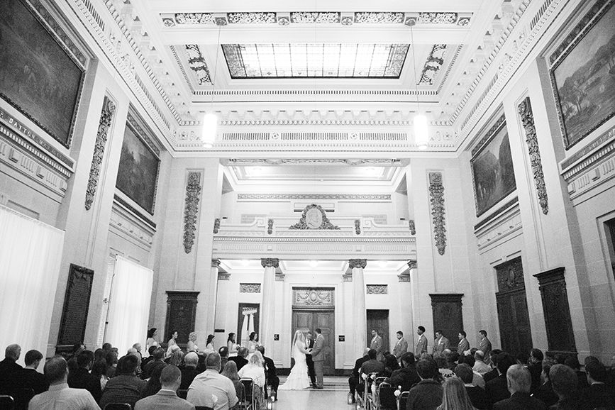 Wedding Ceremony And Reception At Memorial Hall By Casey
