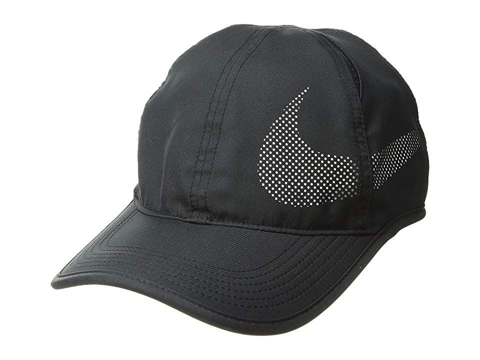 Nike Nikecourt Aerobill Featherlight Tennis Cap Black White White Caps Take Your Performance To New Heights With The Nike Nike Nike Running Cap Free Clothes