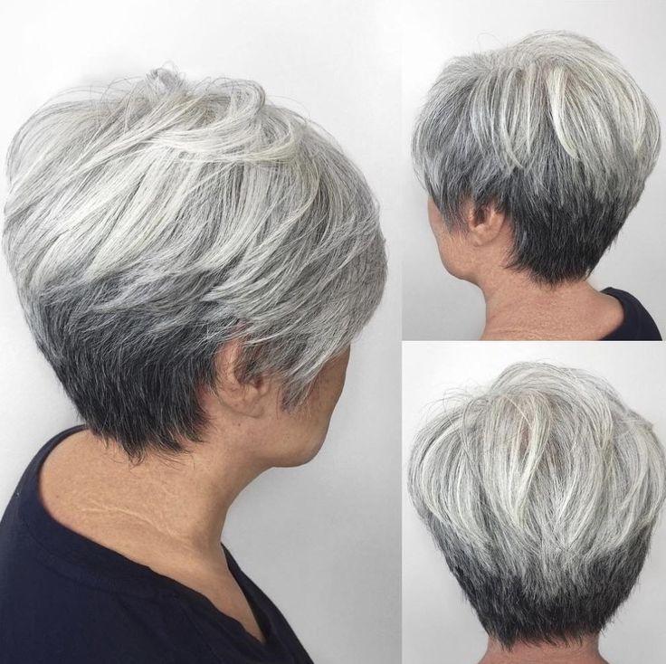 38++ Coiffure courte femme cheveux gris le dernier