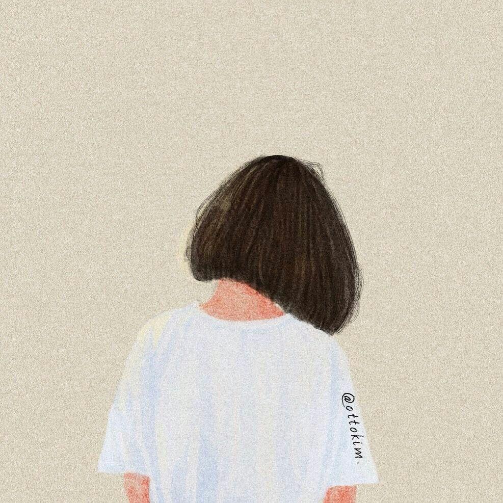 Ottokim Gaya Rambut Pendek Anak Perempuan Gaya Rambut Pendek Ilustrasi Orang