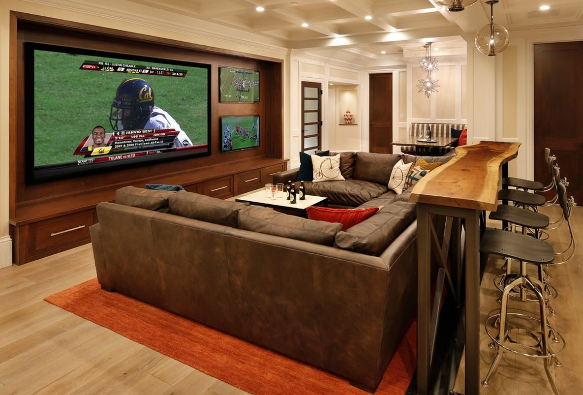 Home Theater And Bar..!
