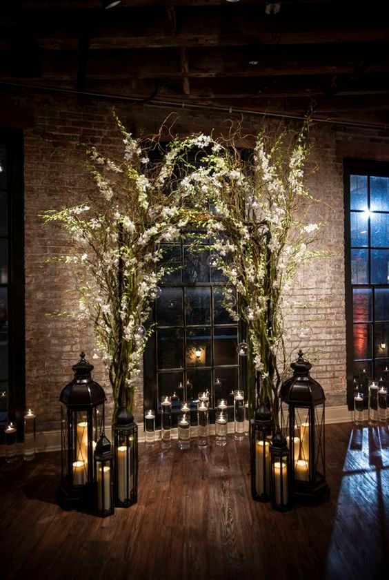 Photo of 30 Winter Wedding Arches And Altars To Get Inspired | Undbraut.com
