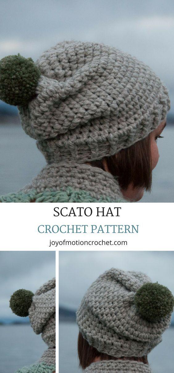 Scato Hat Easy Crochet Pattern Design How To Do Stuff