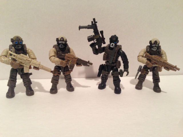 Image result for call of duty mega bloks custom figures