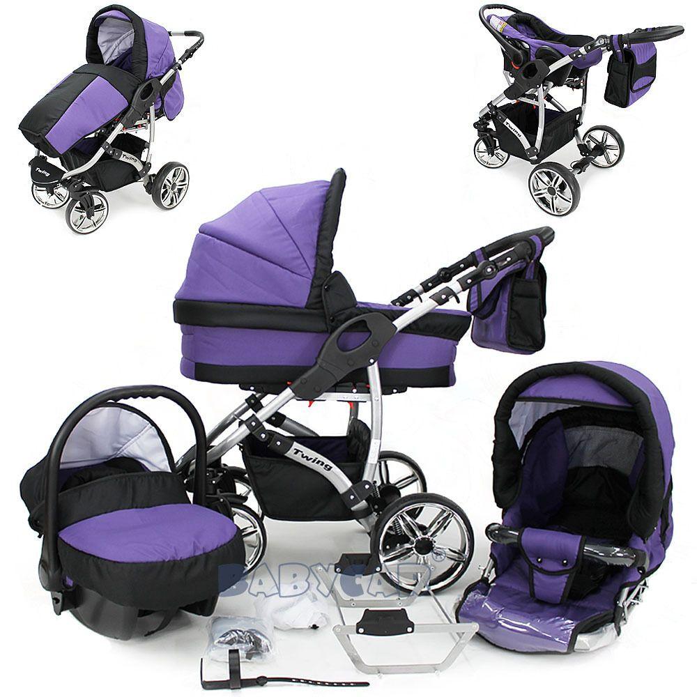 SALE Baby Travel System Swivel Wheel Pram Pushchair Car