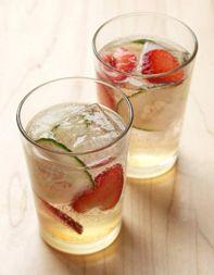 Strawberry-Cucumber Cooler, yummy