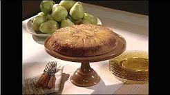 Carrie Hampton - YouTube - MSL-Skillet Cake w/Pears | Martha