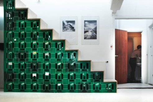 Stairway Made From Milk Crates: Hit or Miss?