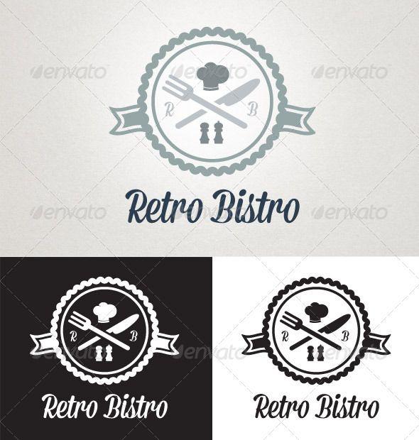 retro bistro retro logos retro and logos
