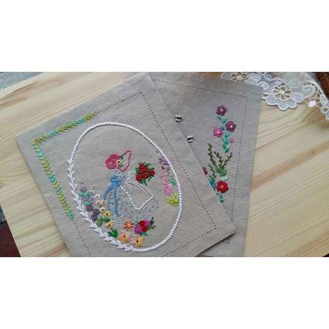 구리작업실 수업날!!!! ^^ #프랑스자수 #구리프랑스자수#embroidery