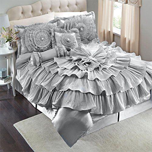 Brylanehome Romance Bed Comforter Set BrylaneHome http://www.amazon.com/dp/B00Q8QSH7S/ref=cm_sw_r_pi_dp_OmYcwb1WSKAMT