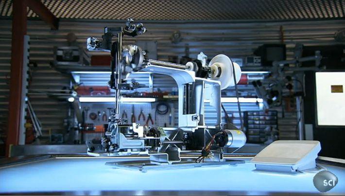 Funktionsweise einer Nähmaschine