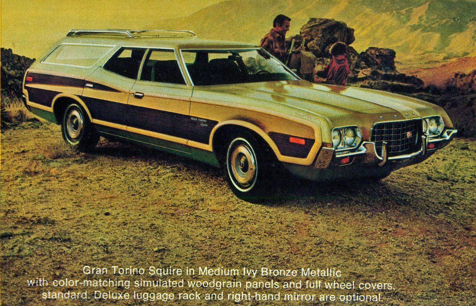 1972 Ford Gran Torino Squire Station Wagon Station Wagon Ford