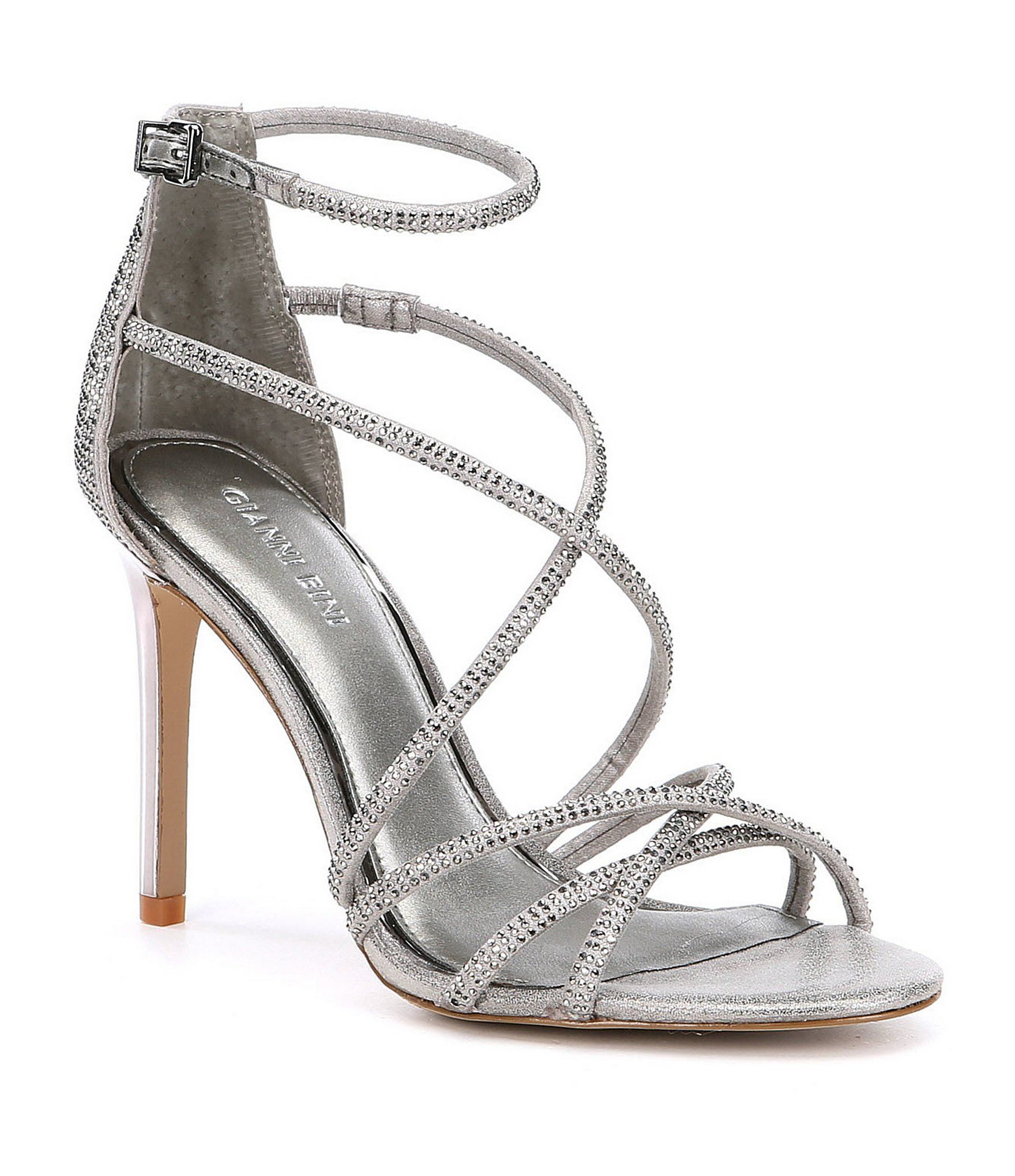 c3b682bc6a4 Gianni Bini Anselle Jeweled Strappy Dress Sandals in 2019 | Shoes ...