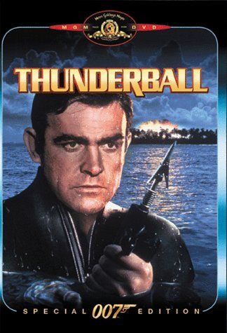 4 James Bond Thunderball 1965 007 Played By Sean Connery Bond