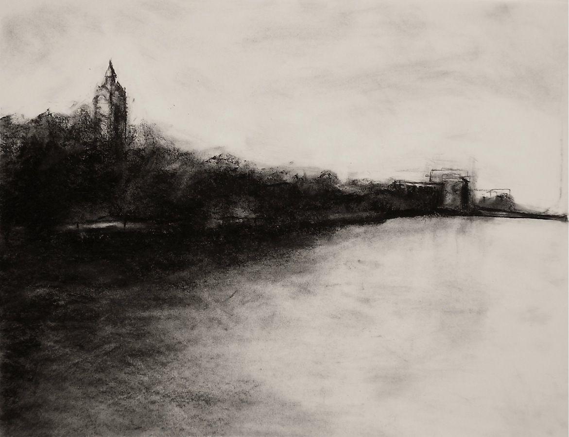 landscape charcoal sketches -#main