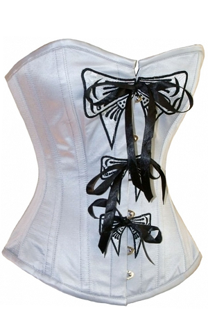 WANT! For those of you who don't know, I am addicted to corsets, and I LOVE this one!   Steel Boned Overbust Corset