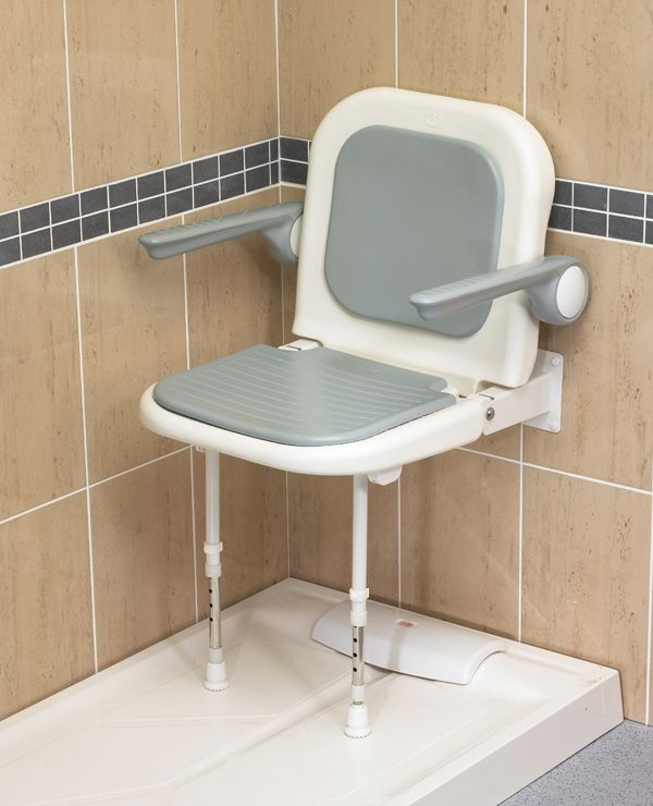 Wall Mount Shower Seat With Arms Shower Seats Shower Seat