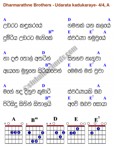sinhala guitar chords book pdf