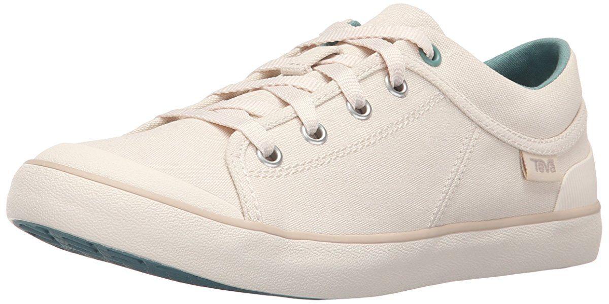 W Freewheel Washed Canvas Shoe, Natural