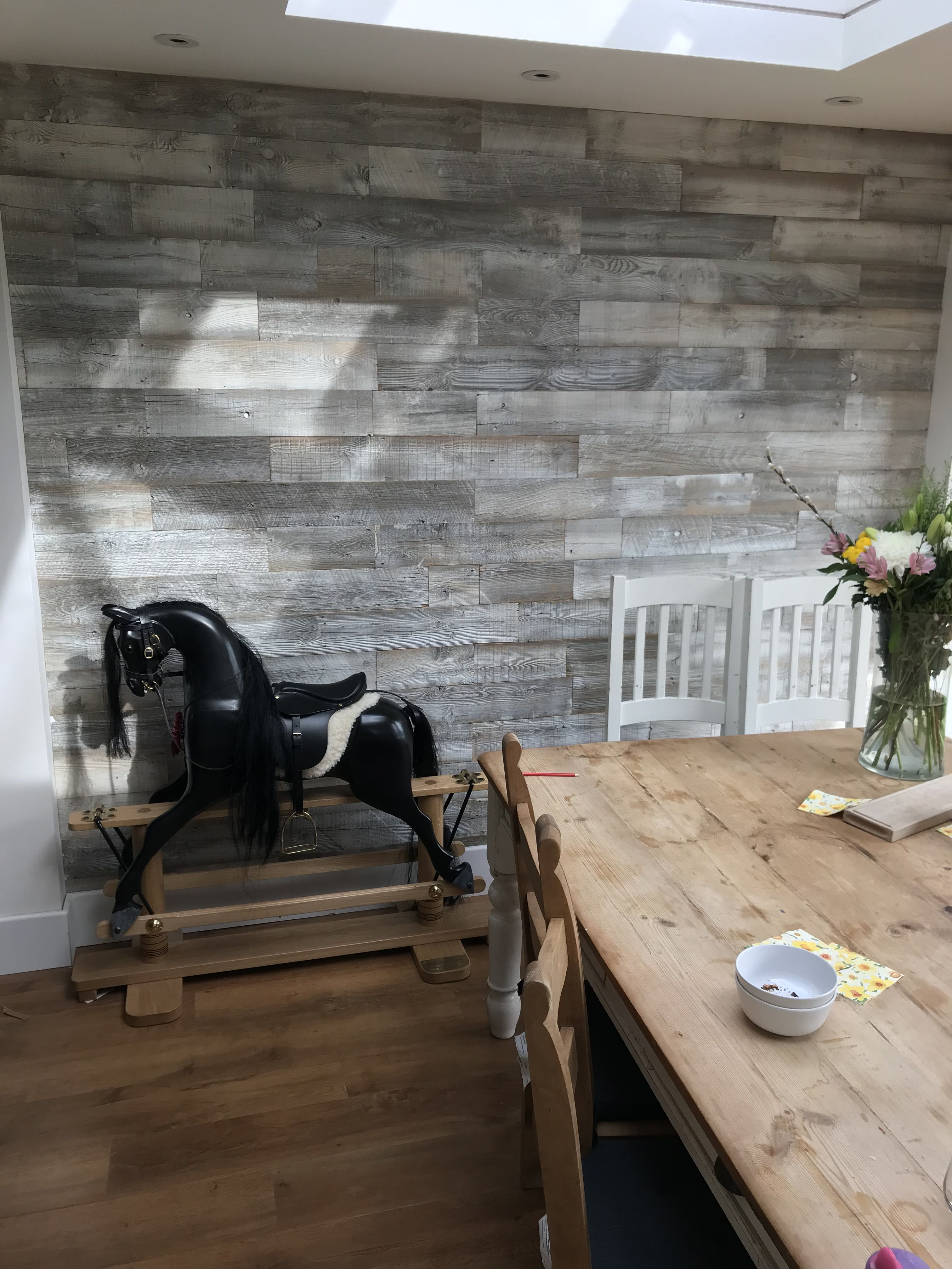 Old Wood Wall Paneling: 'CULEBRA PEAK WHITE' Wooden Wall Panelling Is A Classic