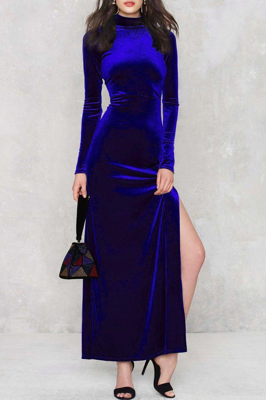 Zealot for velvet maxi dress maxi dresses and clothes