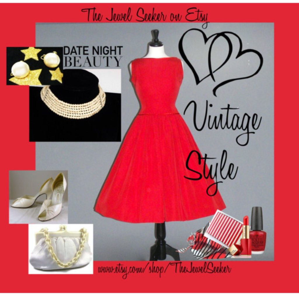 Date Night coming up?  Mix it up #Vintage #Style. We have #Jewelry to complete your outfit!  #teamlove