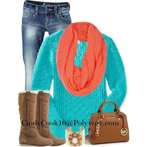 Bright Colors For Winter, created by cindycook10 on Polyvore