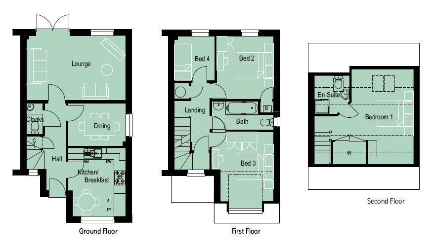 4 Bedroom House Plans Uk House Plans Uk Little House Plans