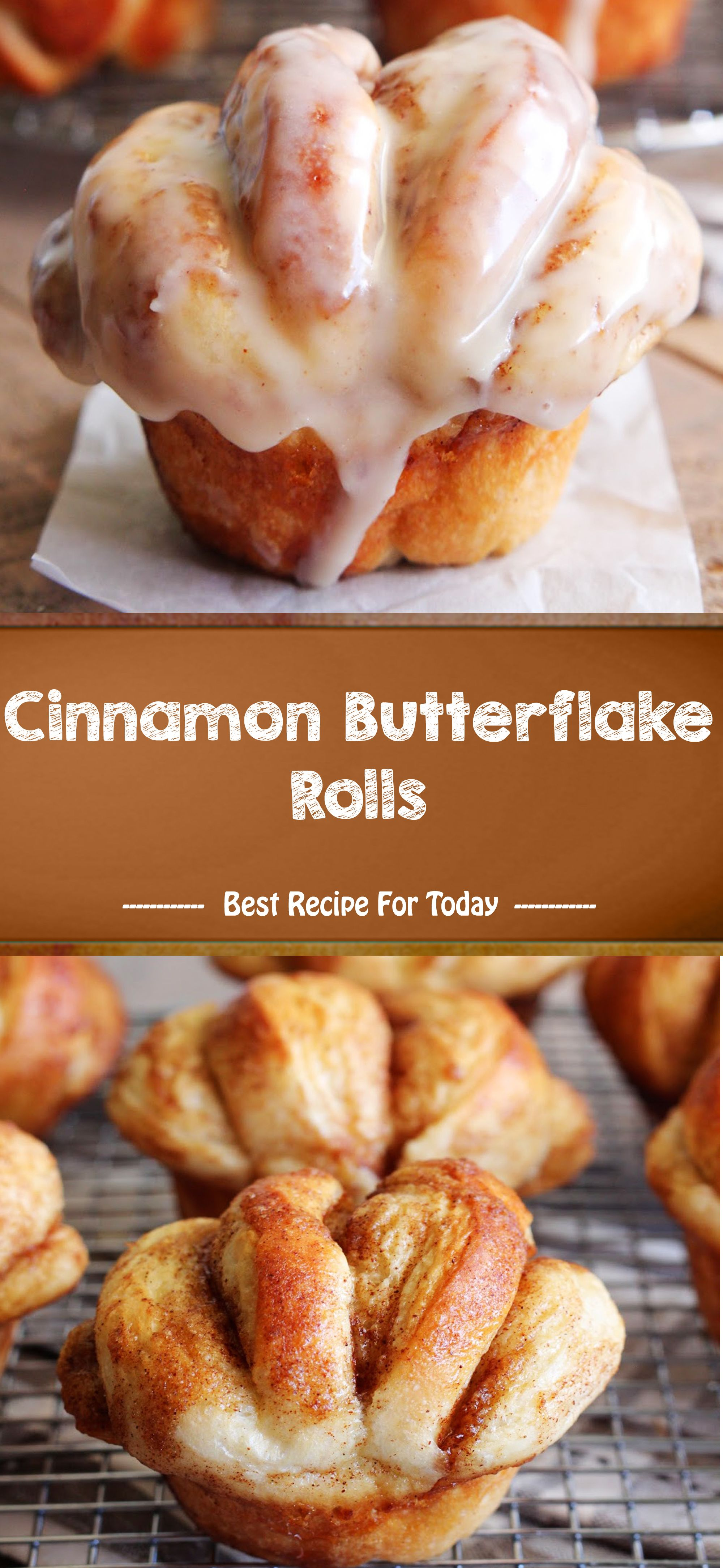 Cinnamon Butterflake Rolls #oreofrosting